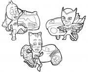 Pj masks series has become in the most popular ongoing child´s show at the moment. Pj Masks Coloring Pages To Print Pj Masks Printable