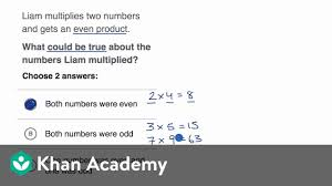 Patterns On A Hundreds Chart Video Patterns With Multiplying Even And Odd Numbers Video