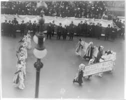 the women s rights movement us house of  suffrage parade