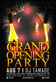 grand opening flyer templates demplates grand opening flyer template 3