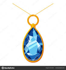 pendant with a diamond icon cartoon ilration of pendant with a diamond vector icon for web design vector by ylivdesign