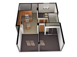 Small 2 Bedroom Cottage Plans One Bedroom House Plans 3d And 2 Bedroom House Home And Interior