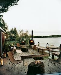 lake cabin furniture. Lake House Rustic-deck Cabin Furniture