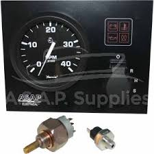 instrument panels and wiring looms mini instrument panel faria beede euro black gauges 24v