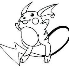 Wonderful Design Ideas Raichu Coloring Page Energy Ash Pikachu Pages
