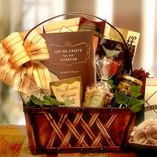 sympathy gift basket for those who are grieving