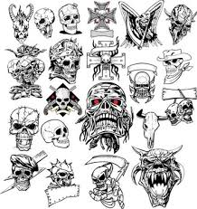 Skull Free Vector Download 677 Free Vector For Commercial Use
