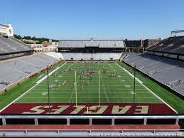 Alumni Arena Buffalo Seating Chart Alumni Stadium Boston College View From Upper Level Kk