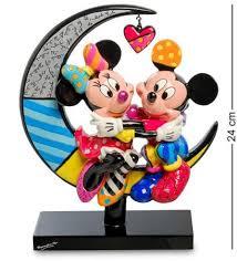 <b>Фигурка Декоративная Disney, Микки</b> и Минни На Луне, 24 См ...