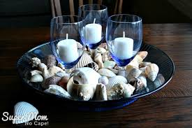 beautiful diy sea shell home decor and gift ideas wines and glass bowl