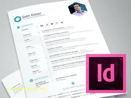 Indesign Resume Templates Fascinating Free Resume Templates For Adobe Indesign Bikesunshinenet