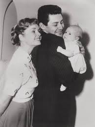 eddie fisher and debbie reynolds. Interesting Eddie Eddie Fisher And Wife Debbie Reynolds Gaze Proudly At Their Baby Daughter  In 1956 Inside And Reynolds E