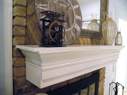 diy fireplace mantel shelf plans easy idea projects