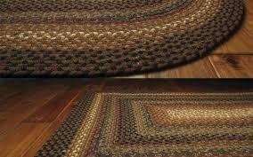 oval cotton braided rug rugs beautiful peppercorn primitive area throw braid