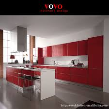 Red Kitchen Furniture Popular Kitchen Cabinets Red Buy Cheap Kitchen Cabinets Red Lots