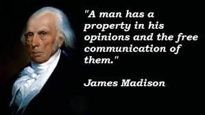 James Madison Quotes Adorable Is James Madison Turning Over In His Grave GraniteGrok