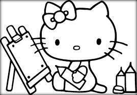 You can also find the best hello kitty accessories. 20 Free Printable Hello Kitty Coloring Pages Everfreecoloring Com