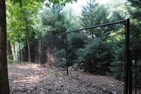 chain link fence post sizes. Black Vinyl Chain Link Fencing Fence Post Sizes