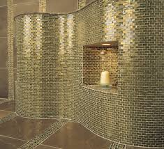 Stone Texture Brilliant Concept And Contemporary Oceanside Glass - Glass tile bathrooms