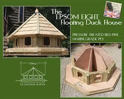 floating duck house plans lovely epsom eight floating duck house df epsom08 duck houses