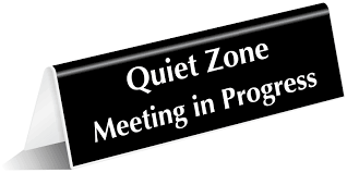 Quiet Please Meeting In Progress Sign Meeting In Progress Signs For Doors Barca Fontanacountryinn Com