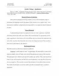 Research Per Samples Example Of Nursing Article Critique Bookworm