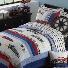 race car twin sheets