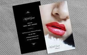 how to design makeup artist business cards 5