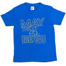 Girls T-Shirt May The 4th/Fourth Be ...