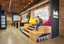 Coolest office designs Colour Ink Factory Office Shot Crains Chicago Business Chicagos Coolest Offices 2016 Crains Chicago Business