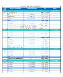 schedules template in excel excel schedule template 11 free pdf word download document