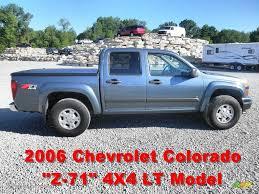 2006 Blue Granite Metallic Chevrolet Colorado Z71 Crew Cab 4x4 ...