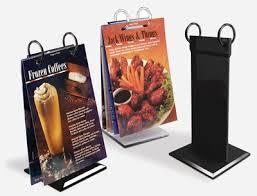 Menu Flip Charts Braeside Displays Flip Charts Present Menu Drink And