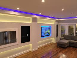 home led lighting strips. Feature Living Room With Led Light Strip And Downlights Strips In Home Lighting