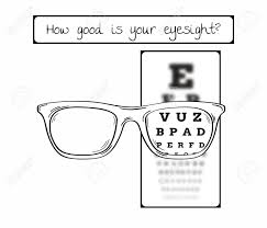 Blurry Eye Test Chart Snellen Chart For Eye Test Sharp And Blurred Chart With Letters