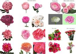 types of flowers in bouquets. garden roses, lisianthus, and carnation varieties step in during the summer months types of flowers bouquets