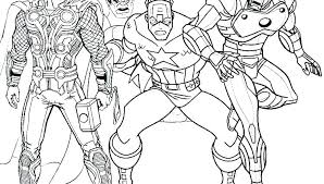 Free Avengers Coloring Pages Avengers Coloring Pages To Print Free
