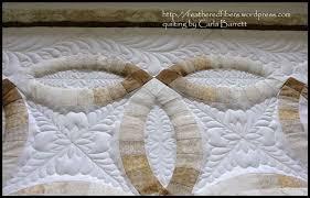 Wedding Quilt Patterns Inspiration Wedding Ring Quilt Carla Barrett