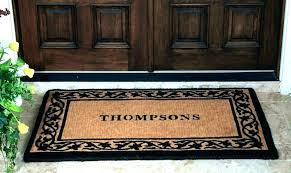Interesting Indoor Front Door Mats Rug For Inside Part Extraordinary