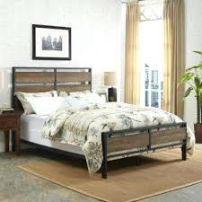 wood and metal bed frame – socialprotectionbd.org