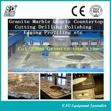 machine for granite marble kitchen top vanity cut at one cutting countertop cultured sink