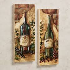 amazing old wine bottle pictures as vintage kitchen wall decor hang