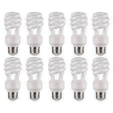Great Value Cfl Light Bulbs Great Value T3 14w Daylight Compact Fluorescent Light