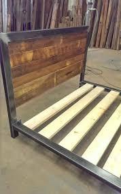 metal wood bedroom furniture. platform bed by metal fred. wood bedroom furniture f