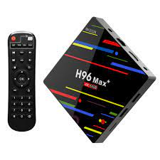 Opolski H96 Max 4+64GB Quad Core 2.4G WiFi TV Box Set-Top Media Player for  Android 8.1