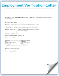 Employment Verification Form Template Classy Sample Employment Verification Letter For Apartment Twroomez