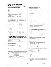 Holt Geometry Worksheet Answers Worksheets for all   Download and ...