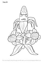 Lively Coloring Pages Of Plants Vs Zombies X4767 Remarkable Plants