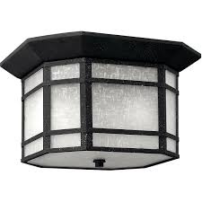 Vintage Outdoor Ceiling Lights Hinkley Lighting 1273vk Cherry Creek Outdoor Ceiling Light Vintage Black