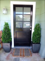 wooden entry doors with glass